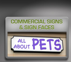 commercial signs & signfaces