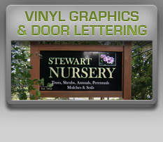 vinyl and door graphics